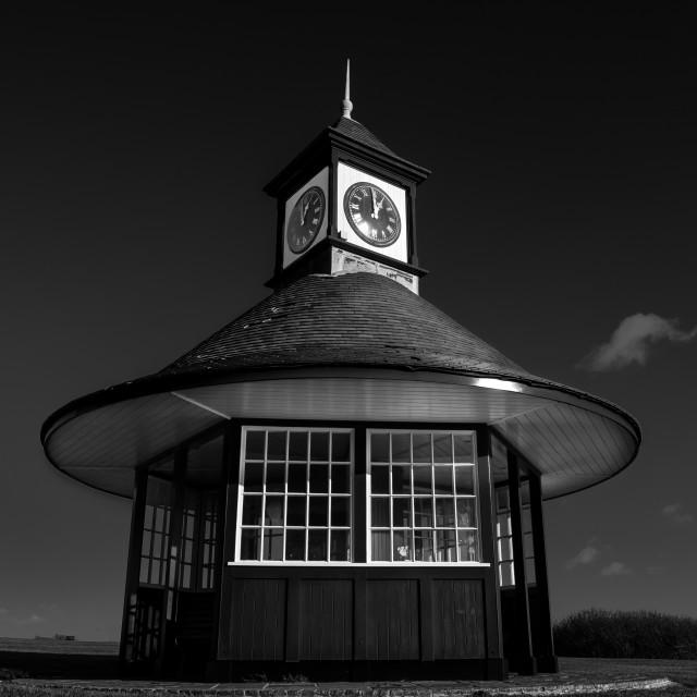 """Frinton Clocktower Shelter"" stock image"