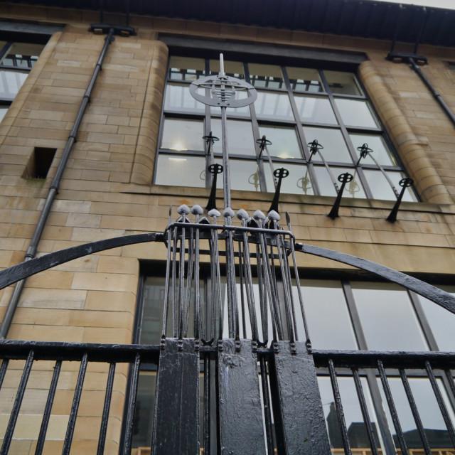 """Glasgow School of Art"" stock image"