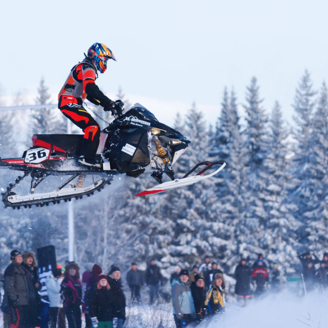 """Arctic Cat Cup Östersund"" stock image"