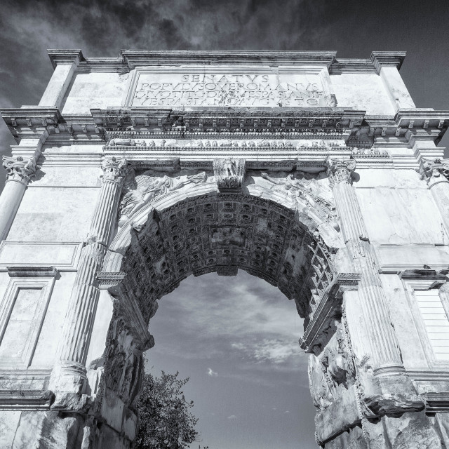 """""""Arch of Titus"""" stock image"""