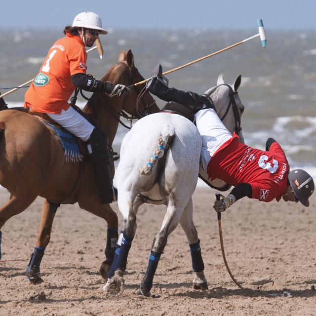 """""""Beach Polo"""" stock image"""