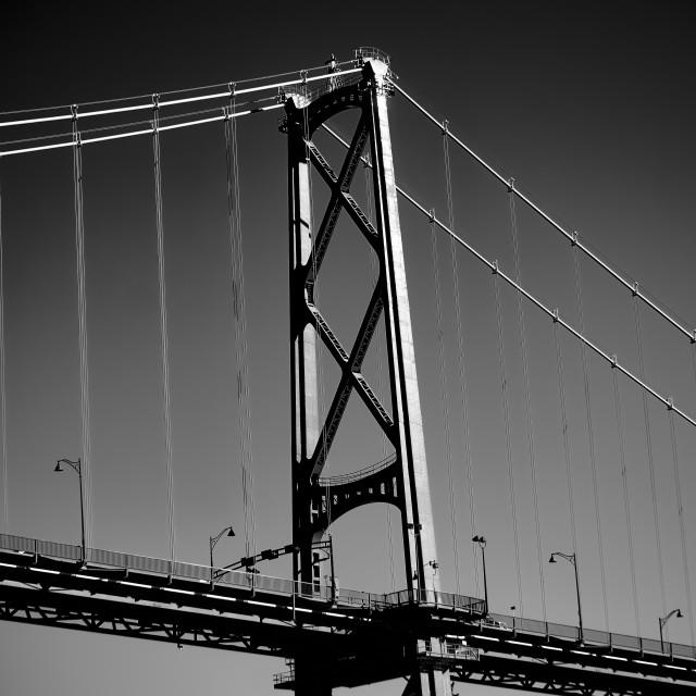 """""""Lion's Gate Bridge, Vancouver"""" stock image"""