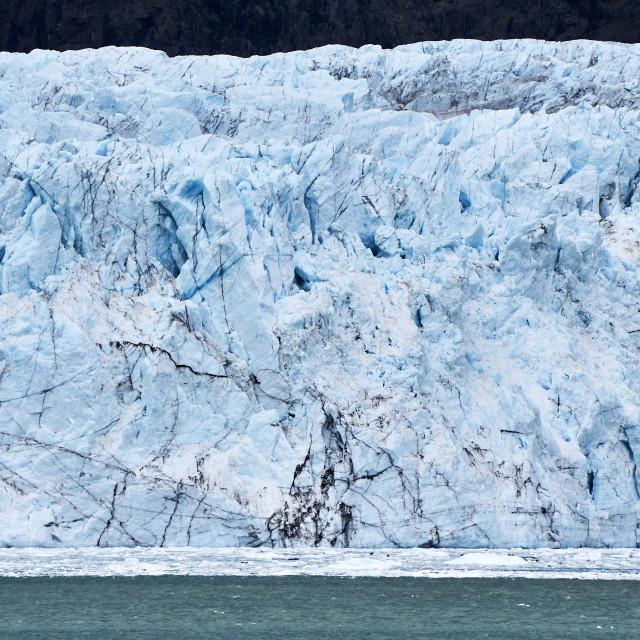 """""""Glacier Bay, Alaska"""" stock image"""