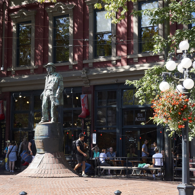 """Gastown, Vancouver"" stock image"