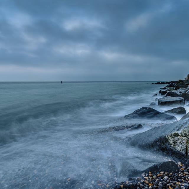 """Sherringham Beach"" stock image"