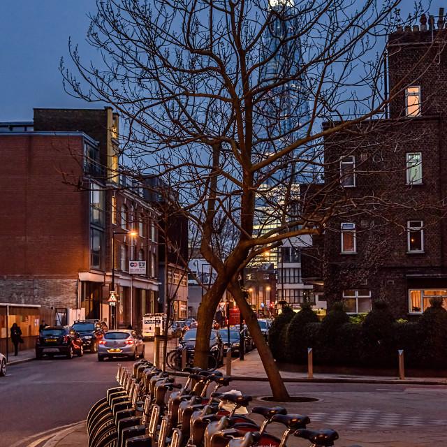 """London Street View"" stock image"