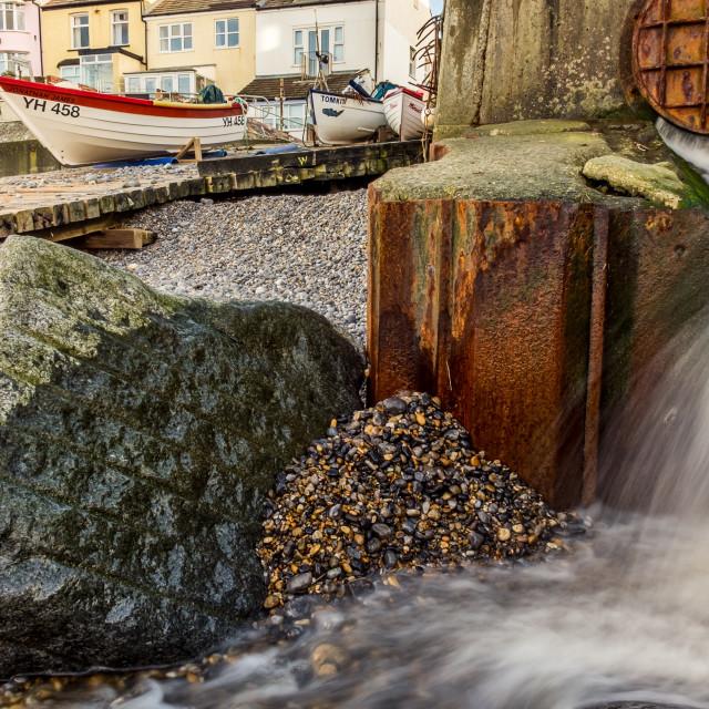 """Sheringham Flow"" stock image"