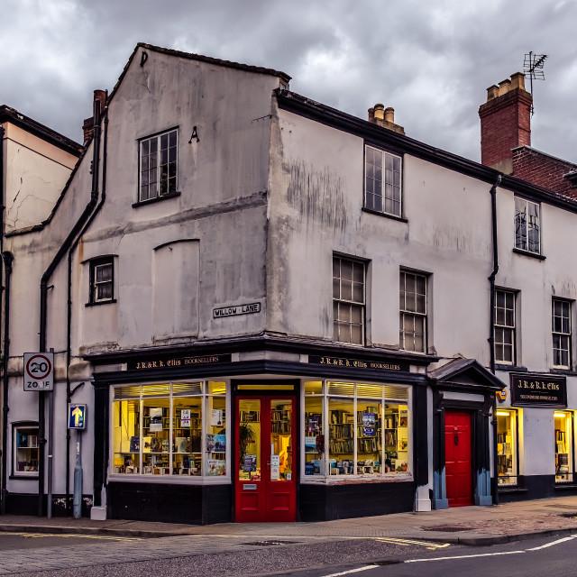 """Book Shop Norwich"" stock image"