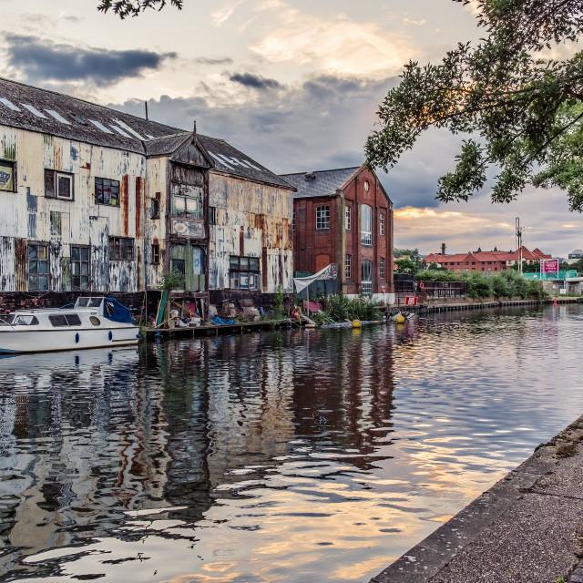"""Norwich Riverside"" stock image"