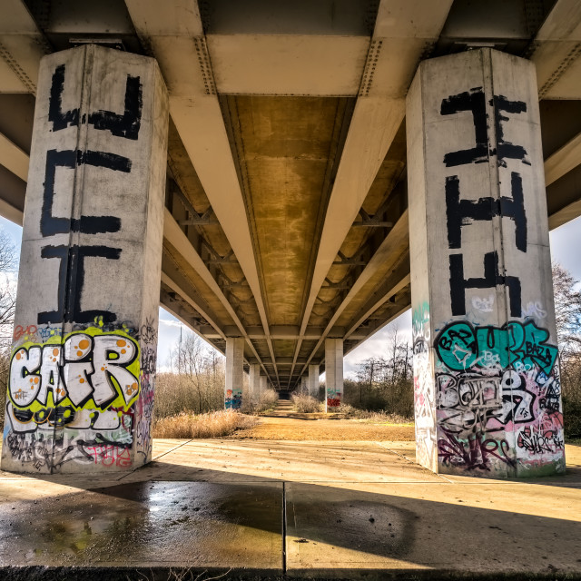 """A 47 Overpass"" stock image"