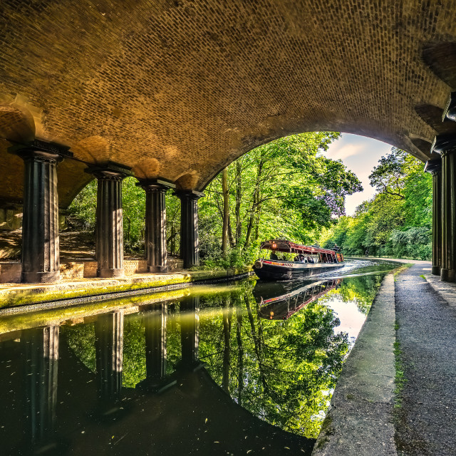 """""""Regents Canal"""" stock image"""