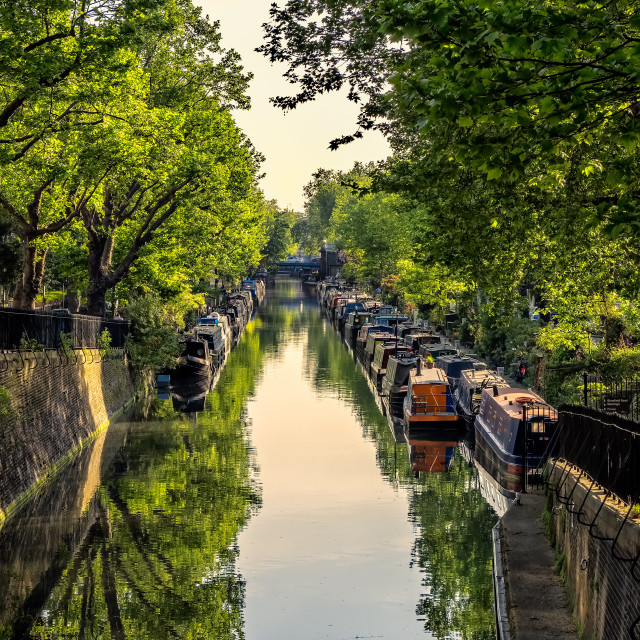 """""""Canal View"""" stock image"""