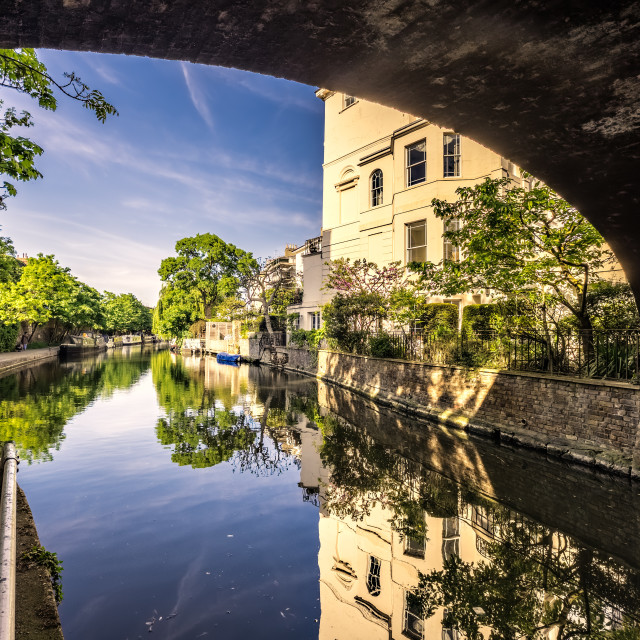 """""""Posh Canal View"""" stock image"""