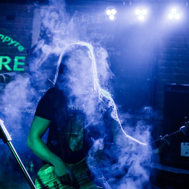"""""""Smoke and light 1 Photographer 0"""" stock image"""