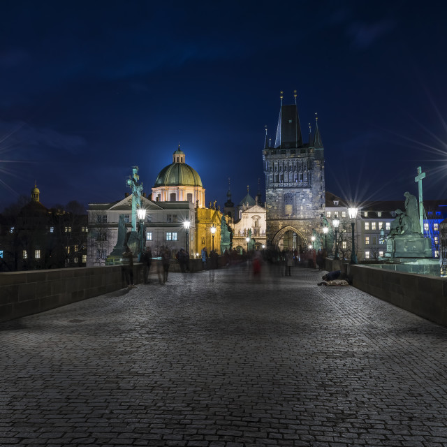 """Charles bridge Prague"" stock image"