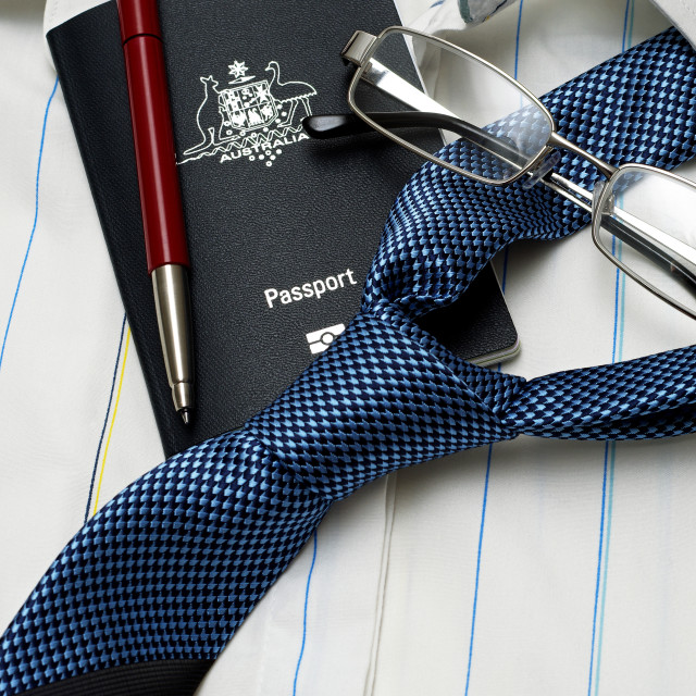 """business travel items"" stock image"
