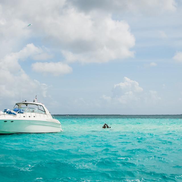 """Yachting"" stock image"