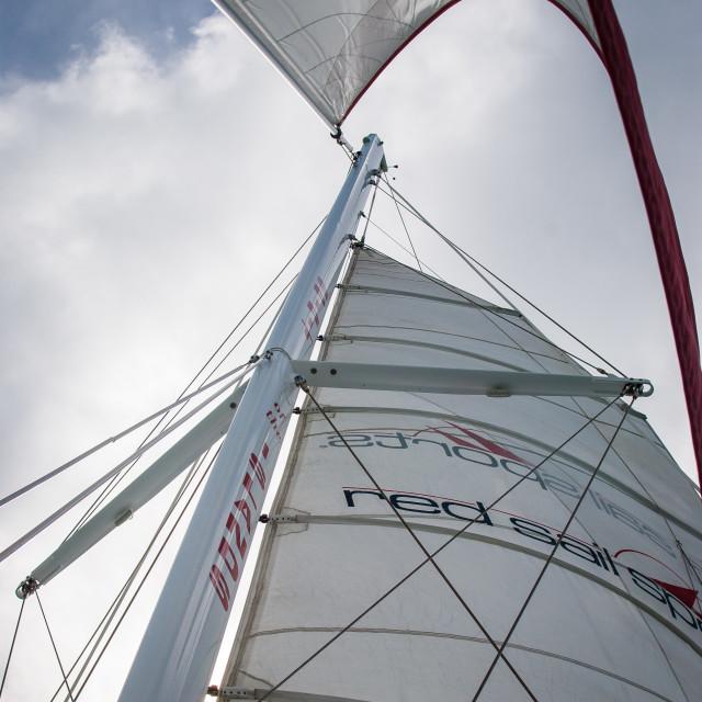 """Set Sail 4"" stock image"