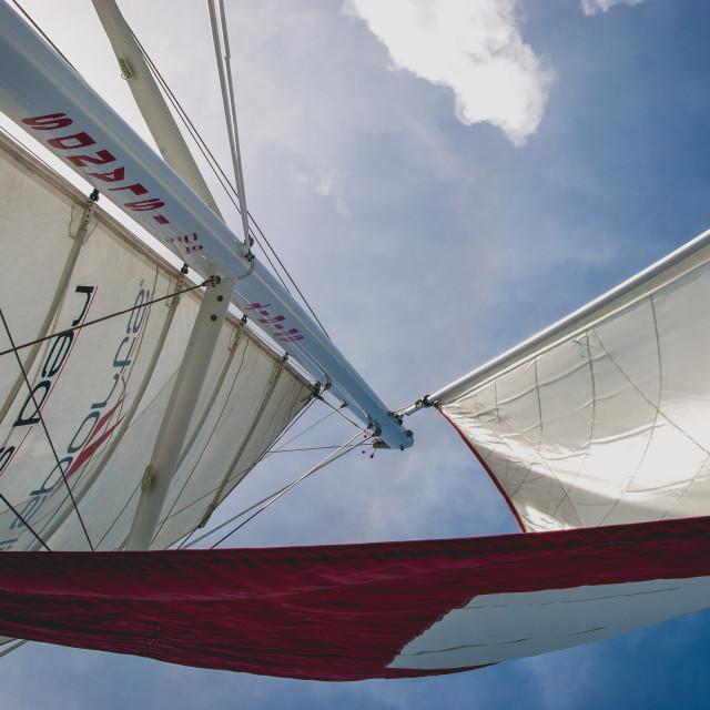 """set sail 5"" stock image"