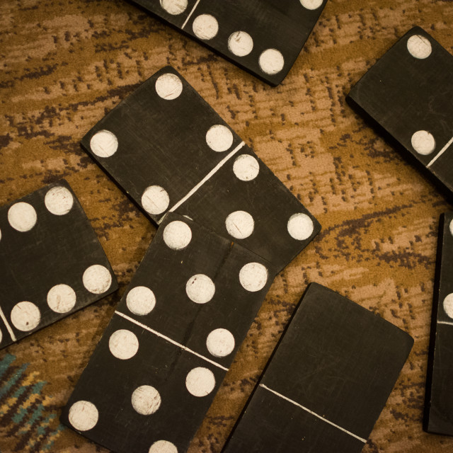 """Domino Blocks"" stock image"