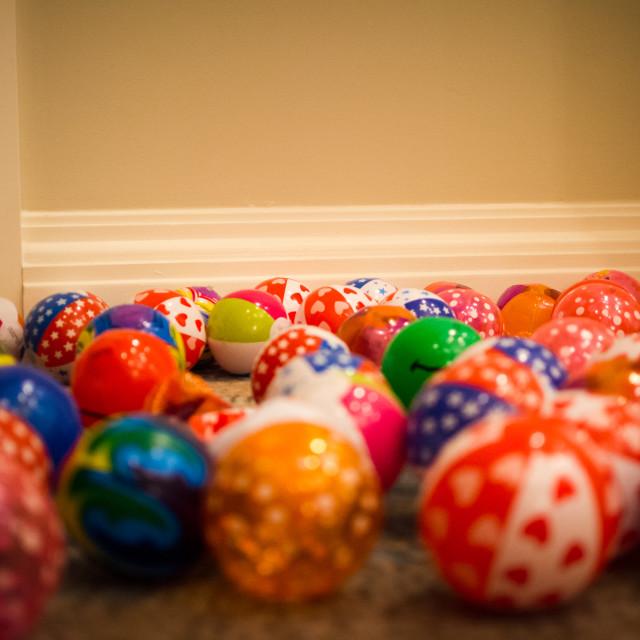 """Inflatable Balls"" stock image"