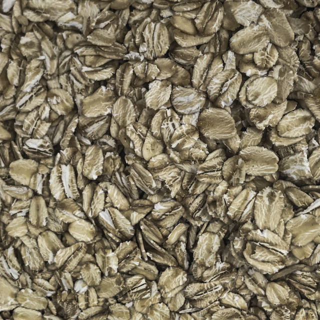 """""""Rolled oats."""" stock image"""