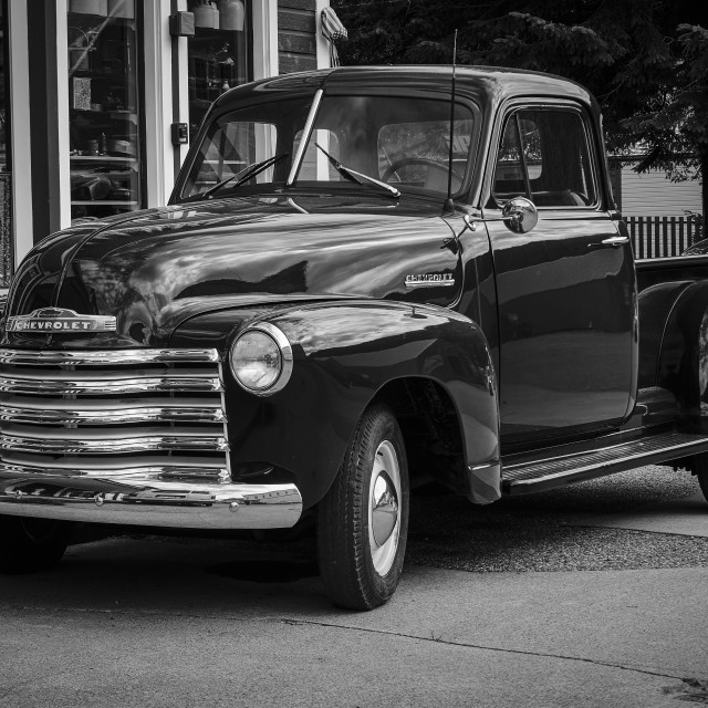 """Chevy Pickup"" stock image"