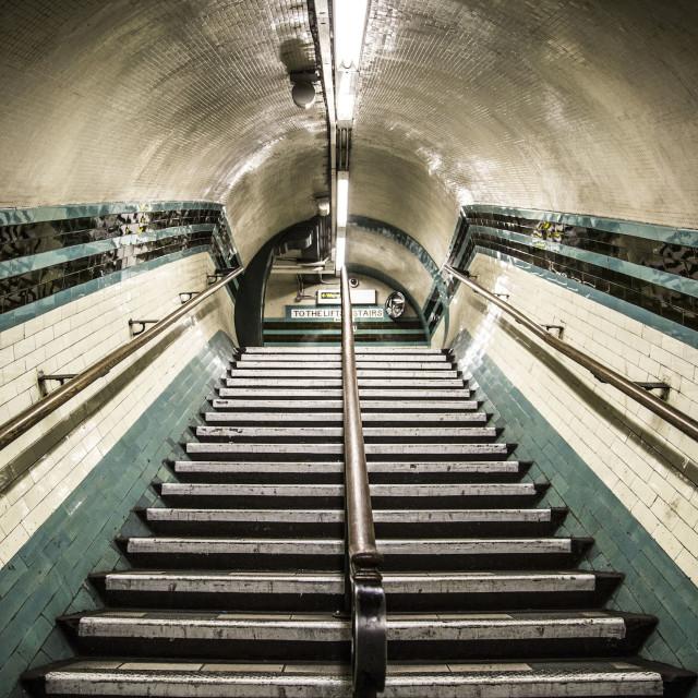 """Camden Stairs"" stock image"