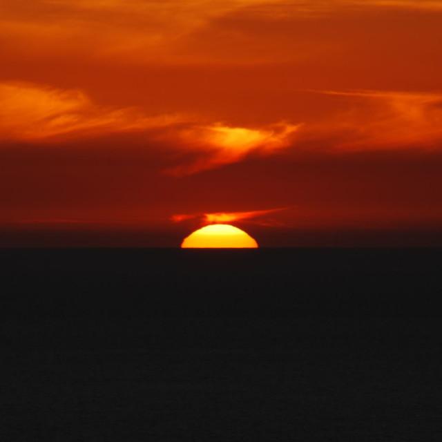 """Sunset - Firebird"" stock image"