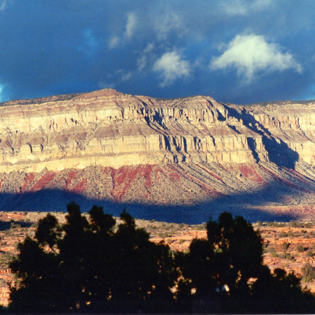 """Mountains Near Toroweep, Arizona"" stock image"