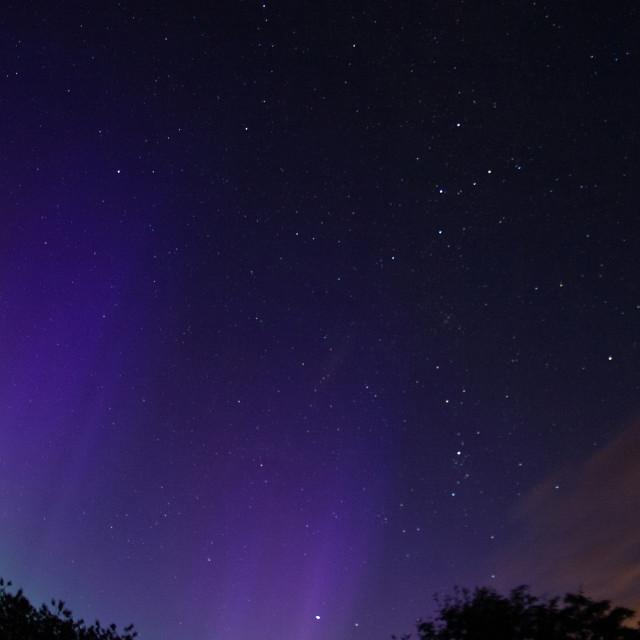 """Aurora Scottish Summer"" stock image"