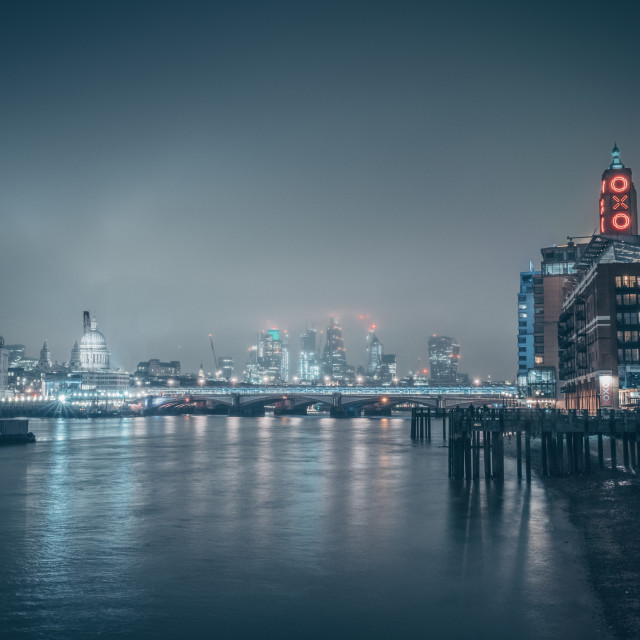 """City Fog"" stock image"