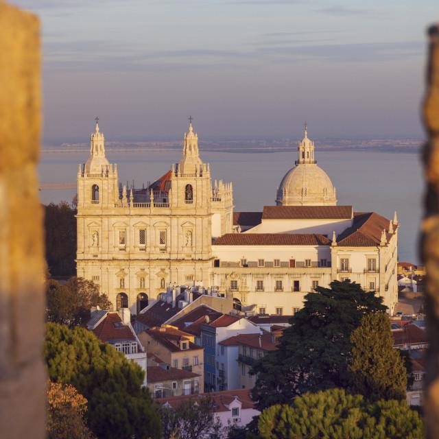 """Sao Vicente de Fora Monastery"" stock image"