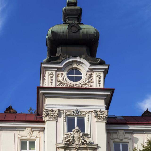 """St. Elisabeth Hospital in Cieszyn"" stock image"