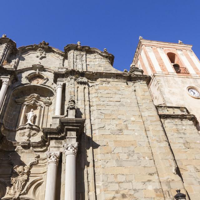 """Church in Tarifa"" stock image"