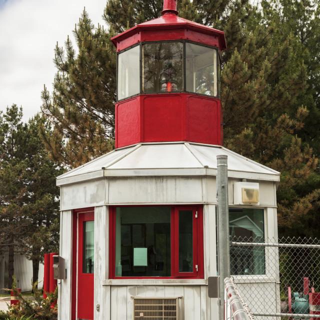 """Cape Robert Lighthouse"" stock image"