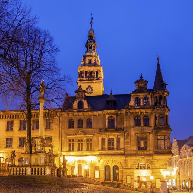 """City Hall in Klodzko, Poland"" stock image"