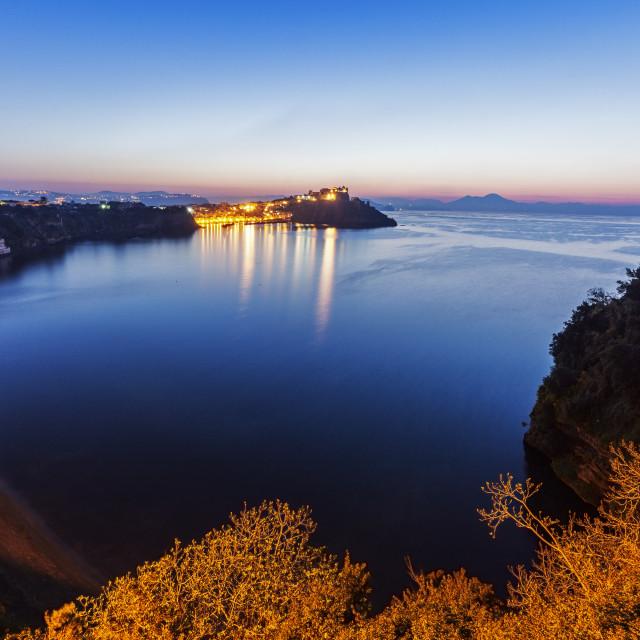 """Marina Corricella on Procida Island"" stock image"