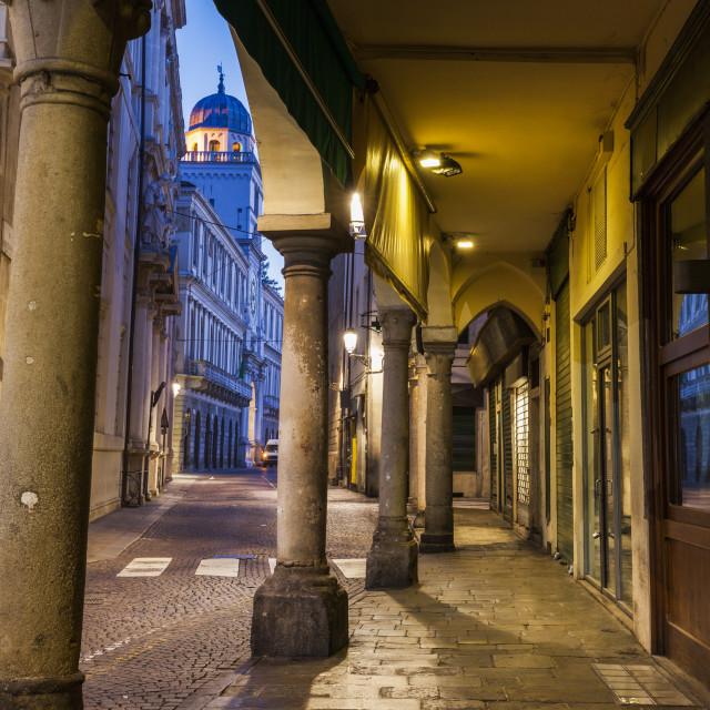 """Architecture of Padua"" stock image"