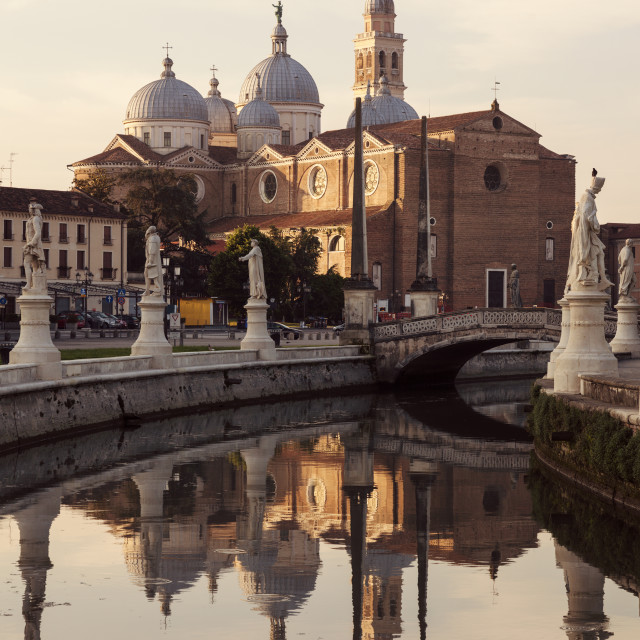 """Abbey of Santa Giustina in Padua"" stock image"