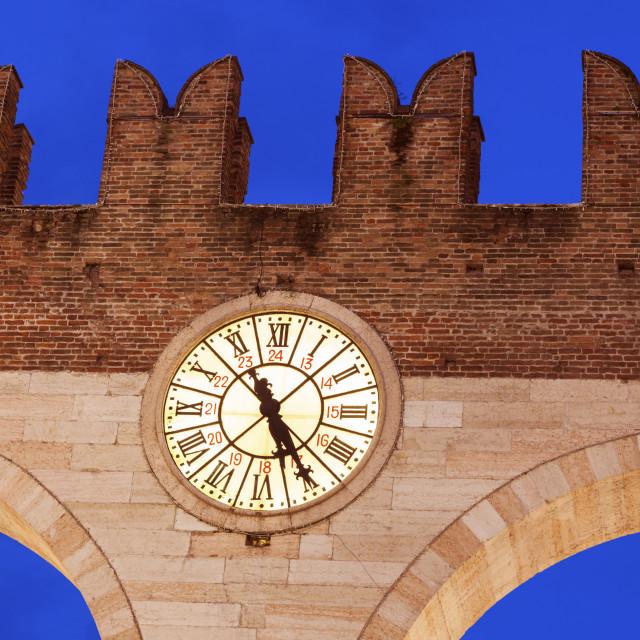 """""""Bra Gate in Verona"""" stock image"""
