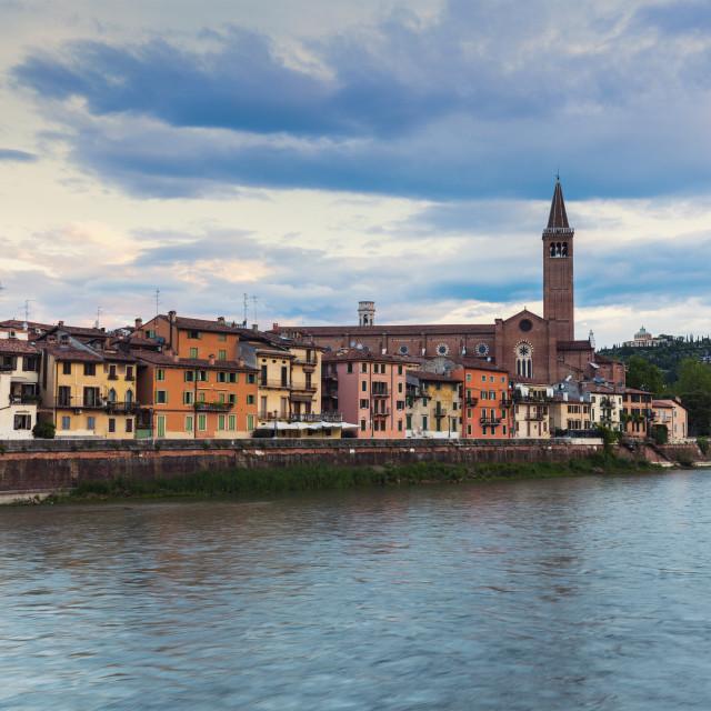 """Architecture of Verona"" stock image"