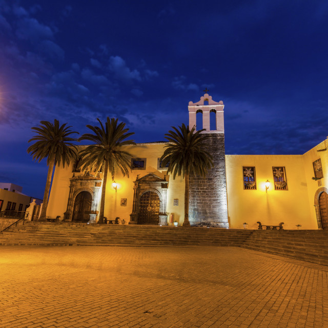 """""""Our Lady Church in Garachico"""" stock image"""