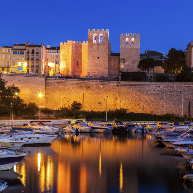 """Abbey of Saint Victor in Marseille"" stock image"