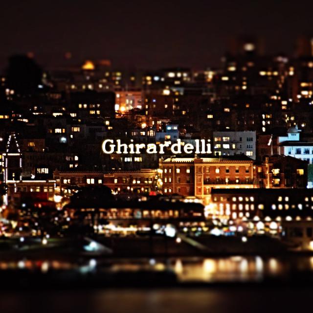 """Ghirardelli"" stock image"