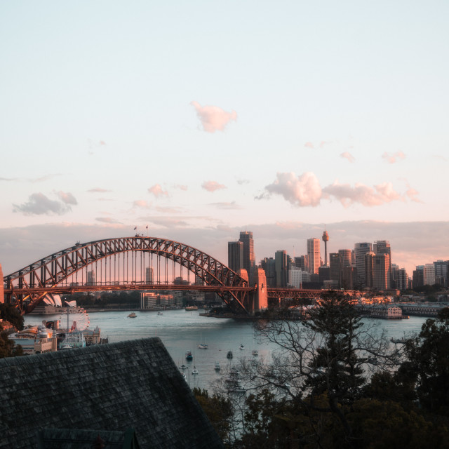 """Sydney Bridge"" stock image"