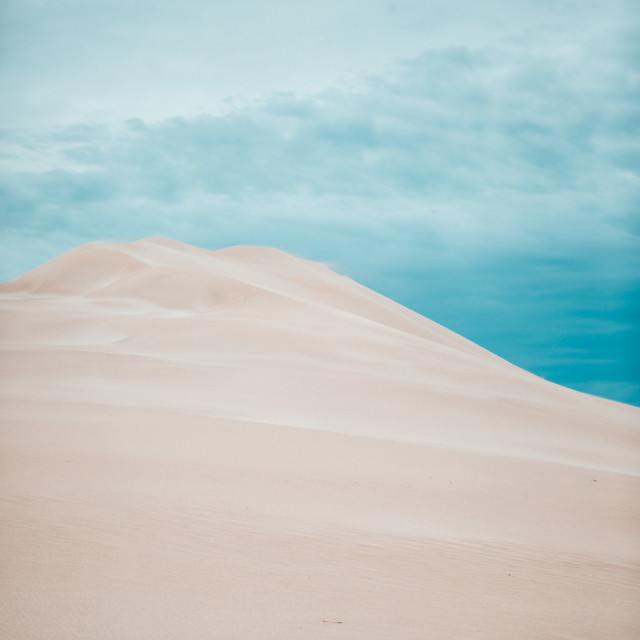 """sand dunes in south australia"" stock image"