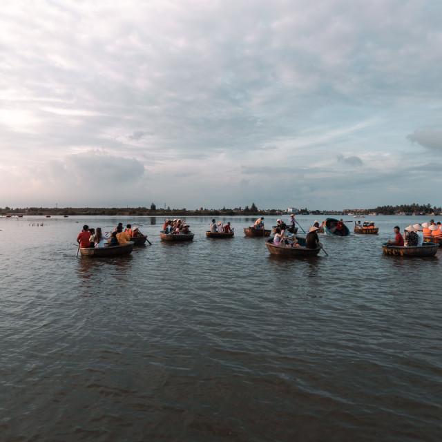 """vietnam boats"" stock image"