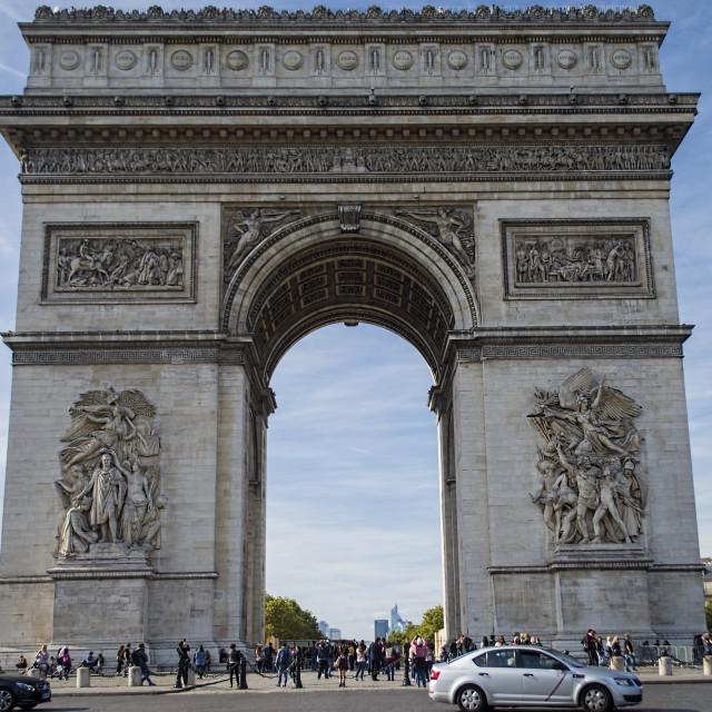 """Arch de Triumph"" stock image"