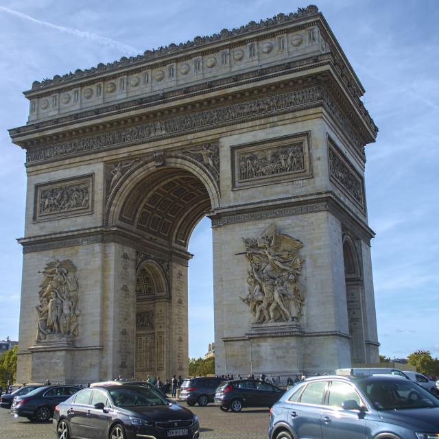 """Arch de Triumph 2"" stock image"
